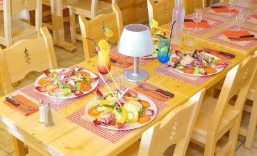 Notre auberge restaurant en photo
